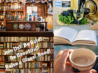 Book and Brew Collage