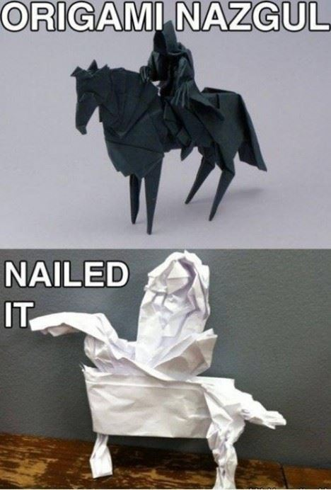Origami nailed it