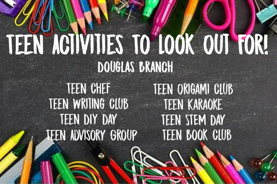 Douglas Teen ACtivities